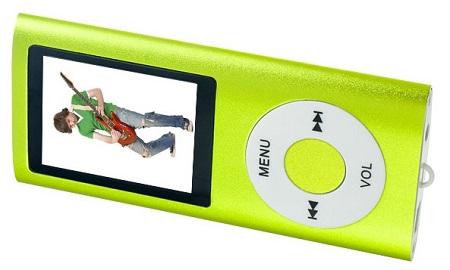 Цифровой аудио плеер PERFEO Music I-Sonic зеленый (VI-M011 Green)        Новинка!