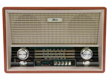 Радиоприемник RITMIX RPR-101 Wood
