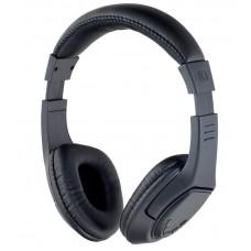 Наушники полноразмерные PERFEO RIDERS беспроводные с микрофоном (FM, microSD, 5 кнопок управления) черные (PF-BT-006)        Новинка!