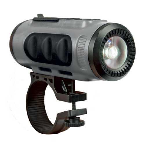 Акустика портативная RITMIX SP-520BC grey+black (фонарь + крепление на руль, FM, Bluetooth)