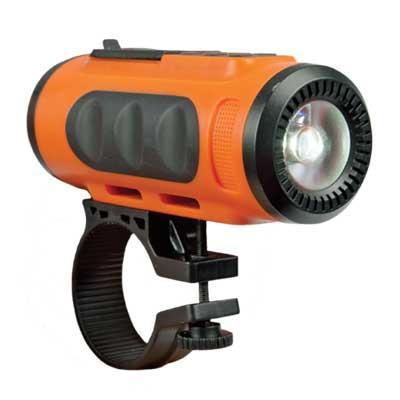 Акустика портативная RITMIX SP-520BC orange+black (фонарь + крепление на руль, FM, Bluetooth)