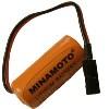 """MINAMOTO ER 14335/C1 3,6V Lithium """"2/3AA"""" 1650mAh с разъемом (100)"""
