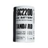 D-SC2200 STANDARD (NiCd 2200mA 23,043,0mm)