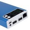 Портативный блок питания с встроенным WiFi роутером CAGER WF30 10400 mAh (Резервный аккумулятор для смартфона и планшета, два USB-порта, раздача WiFi c 3G-карты или RG45)