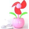OXION OFN003 USB-вентилятор-цветок настольный, розовый (OFN004PK)