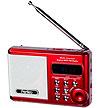 Радиоприемник PERFEO Dual Band Sound Ranger PF-SV922BK, USB, microSD. ЧЁРНЫЙ