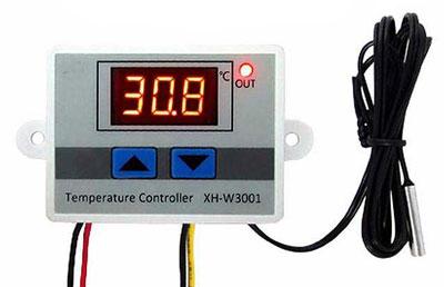 Термостат от -50 до +110 гр. Цельсия в пластиковом корпусе