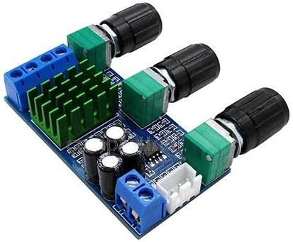 Модуль RS039. Миниатюрный двухканальный УНЧ на TPA3116D2