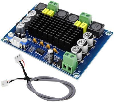 Модуль RS041. Аудио стереоусилитель на TPA3116D2 (XH-M543)