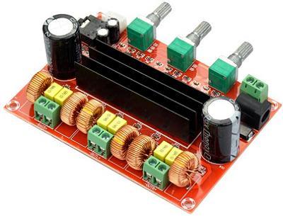 Модуль RS040. Аудио усилитель на TPA3116D2 (XH-M139)
