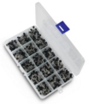 Набор RSG транзисторы TO-92 (600 штук; 15 видов по 40 шт.)
