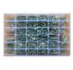 Набор RSG винты-гайки (36 видов винтов, гаек и шайб М2, М2.5, M3, M4, M5, M6)