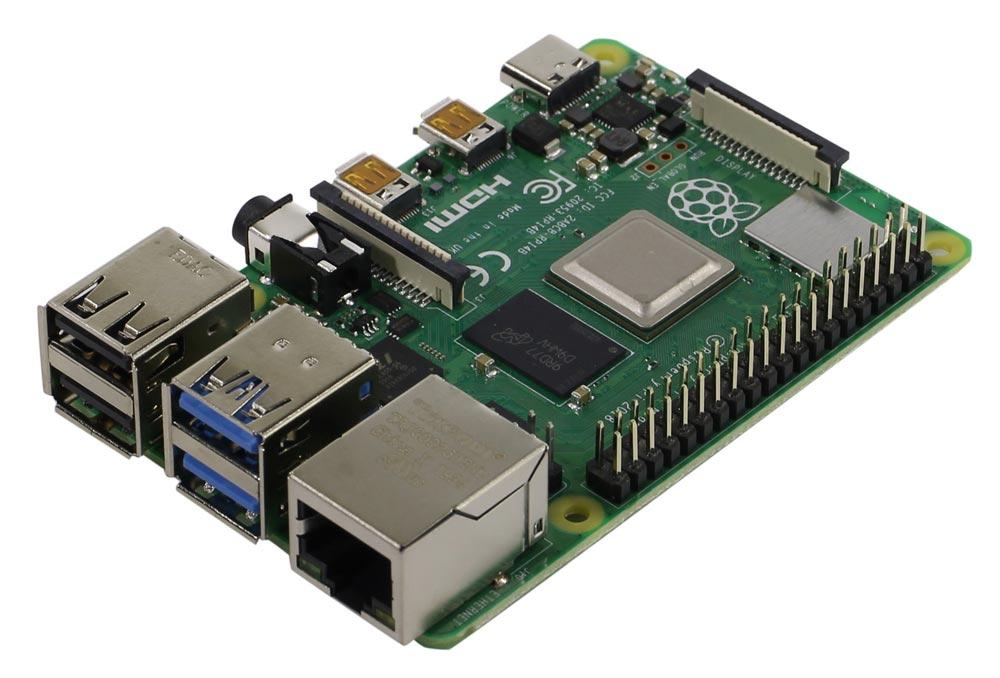 Одноплатный микрокомпьютер Raspberry Pi 4 Model B 4GB