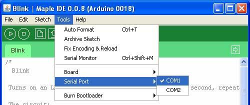 Модуль RM010 . Arduino совместимая плата Funduino на чипе Cortex-M3 STM32F103RB 72 MHz