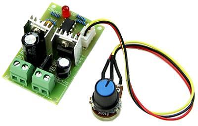 Модуль RP099. ШИМ-регулятор DC моторов. 12...36 В (3 А)
