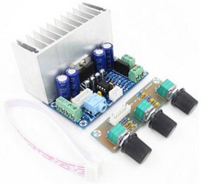 Модуль RS038. Аудио усилитель на TDA7377 (XH-M342)