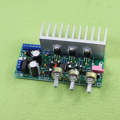 Аудио-усилитель стереофонический TDA2050 + TDA2030