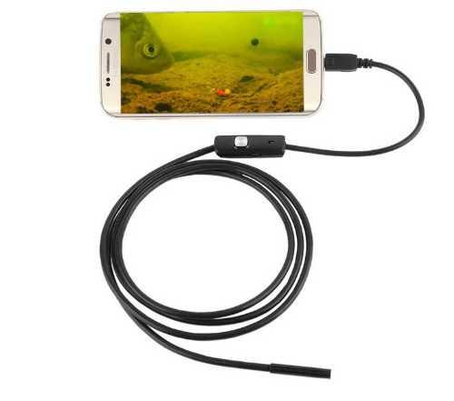 Водонепроницаемая эндоскопическая камера для Android 5.5mm - 3.5mm.