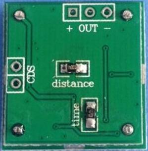 RI055. Датчик объёма на СВЧ HW-M09 с коммутатором