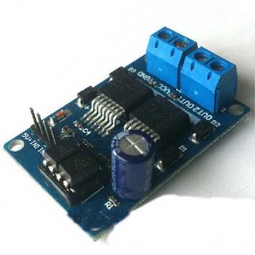Модуль RM017. Драйвер моторов на микросхеме BTS7971.