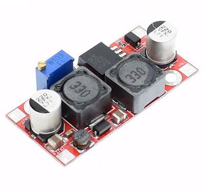 Повышающий DC-DC преобразователь XL6009 для Arduino. Модуль RP058