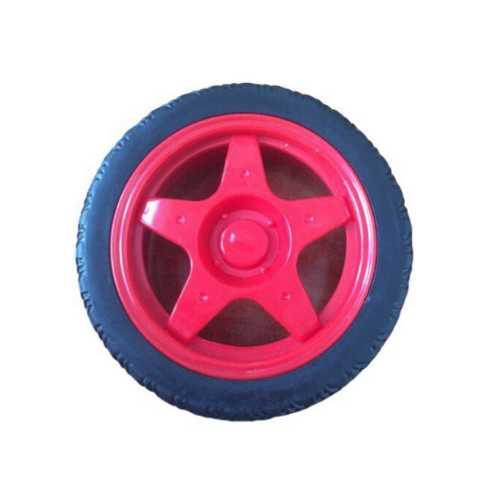 Колесо для Умной машинки красное (67 мм)