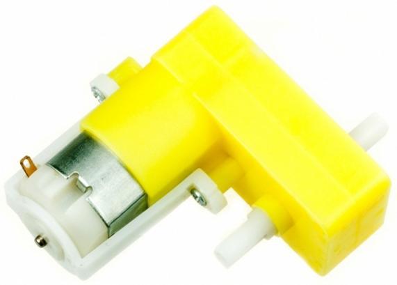 RBT008. TGP02D-A130. Мотор-редуктор привода колеса. Угловой (двухсторонний вал)