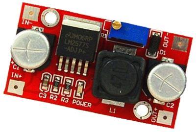 Модуль RP098. Повышающий DC-DC на LM2577S. 4...30 В (2,5 А)