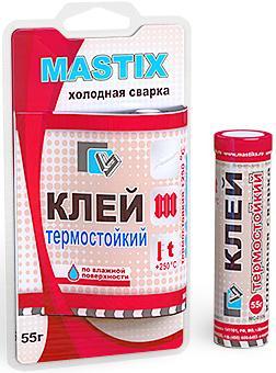 MASTIX MC0106. Клей термостойкий (холодная сварка)