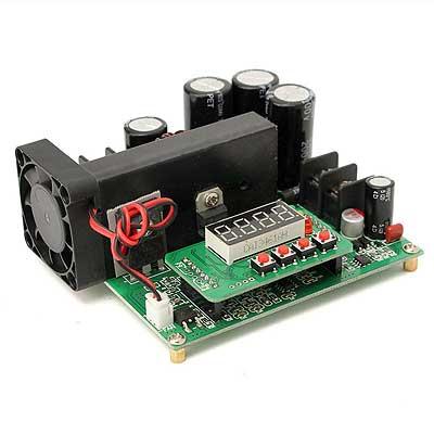 Модуль RP088. Преобразователь DC-DC 900 Вт повышающий, с цифровым LCD