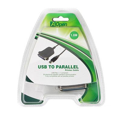 Кабель-адаптер USB AM - LPT Aopen [ACU806]