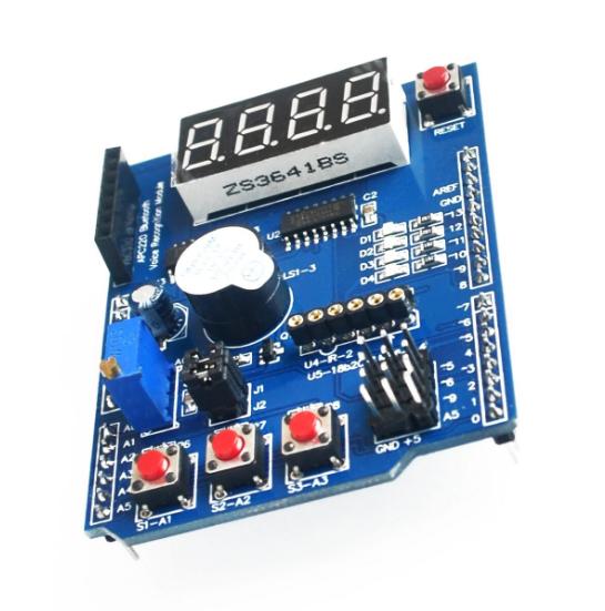Модуль RM012. Многофункциональный Shield для Arduino