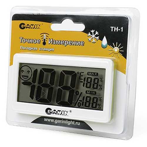 Термометр-гигрометр GARIN TH-1