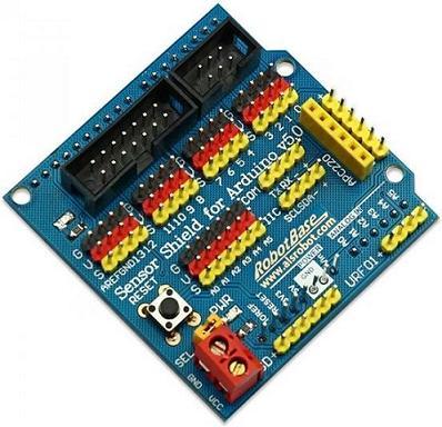 Модуль RC0108. Sensor Shield V5.0 для Arduino