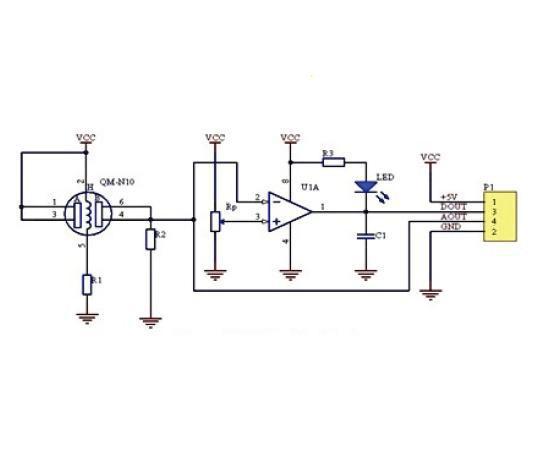 MQ-135 датчик качества воздуха CO2
