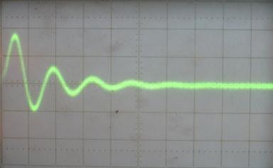 Подключение осциллографа к корзиночному датчику для металлодетектора Кощей-5И