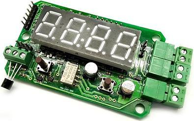 MP8037R. Цифровой термометр/термостат до 4 кВт (20 А)