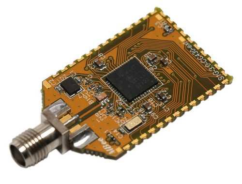 ZigBee приёмо-передатчик MBee-868-3.0-WIRE-SOLDER