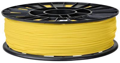 PP009BF. PLA-пластик для 3D печати 1,75 мм. Катушка 1 кг. ЖЁЛТЫЙ