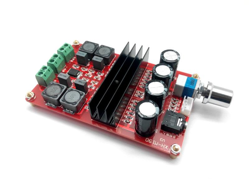 Усилитель НЧ D-класса 2х100 Вт (TPA3116) MP3116