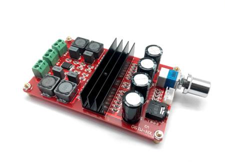 MP3116. Усилитель НЧ D-класса 2х100 Вт (TPA3116)