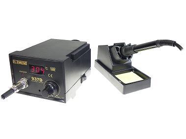 Монтажная паяльная станция Паяльник с регулировкой температуры ELEMENT 937D