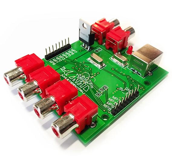 BM2114dsp  - DSP процессор, для цифровой обработки звука на базе ADAU1701