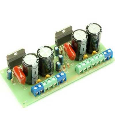 NM0106. Набор для пайки оконечного усилителя НЧ 70...150 Вт (2xTDA7294)
