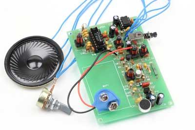 NM0701. Набор для сборки портативной радиостанции 27 МГц