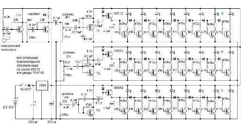 NF192LED Набор радиолюбителя для сборки ЦМУ