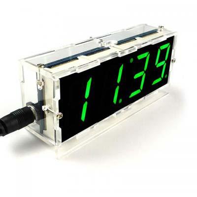 Набор радиолюбителя для сборки настольных DIY часов NM7039box