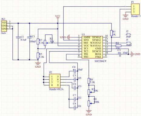 NS046box. Радиоконструктор. Генератор сигналов до 1 МГц