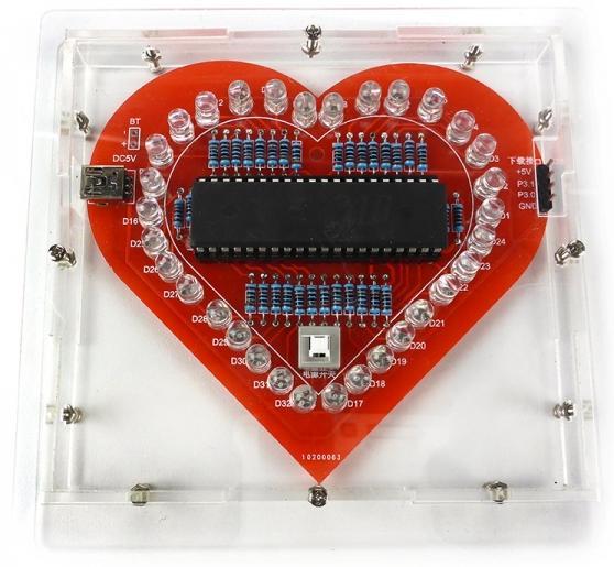 NS095box. Набор для сборки «Живое сердце»