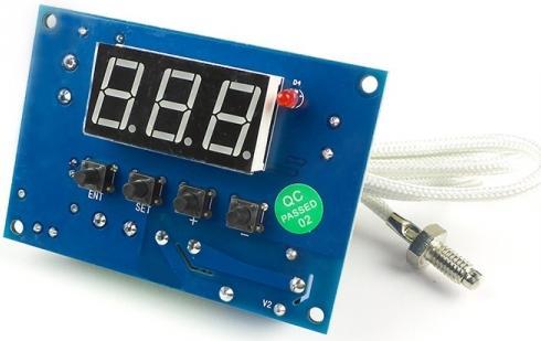 MP8030hot. Встраиваемое термореле -99...+1000 С. 2 кВт (10 А)